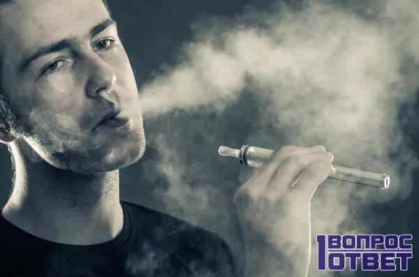 Совсем молодой курильщик