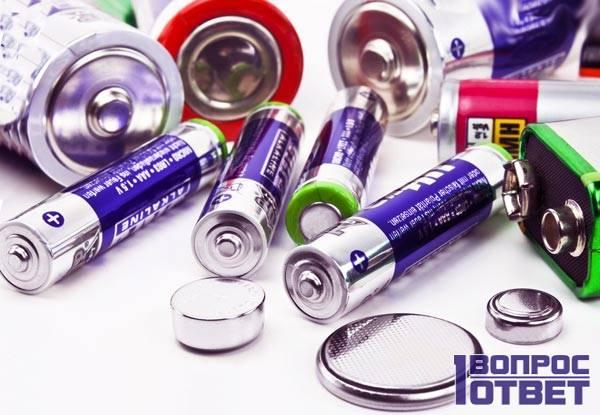 Преимущество алкалиновых батарей