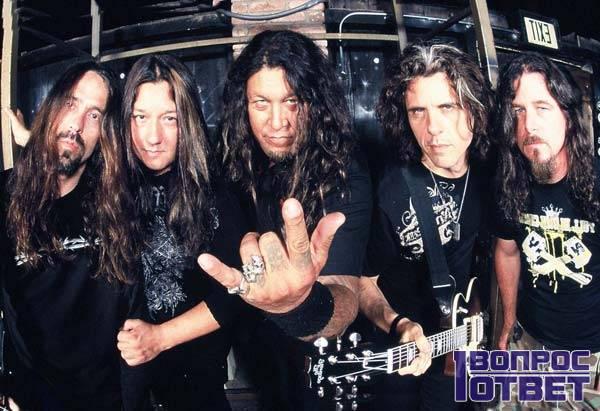 Трэш-металл группа