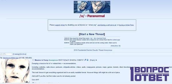 Сайт 4chan