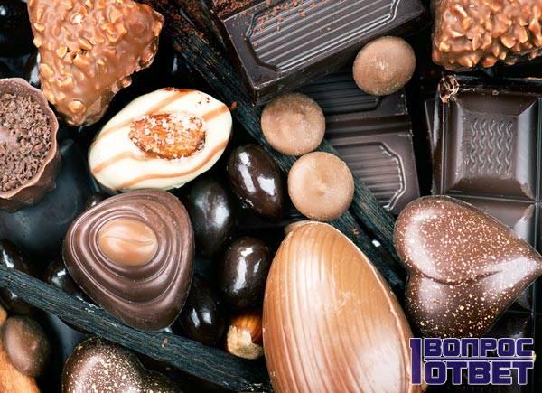 Ассорти шоколада