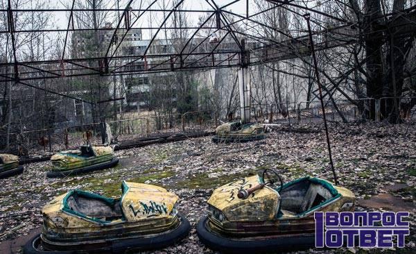 Последствия Чернобыльской катастрофы