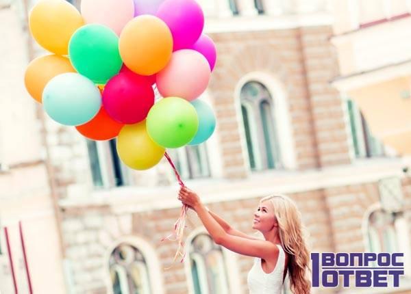 Простой подарок - воздушные шарики