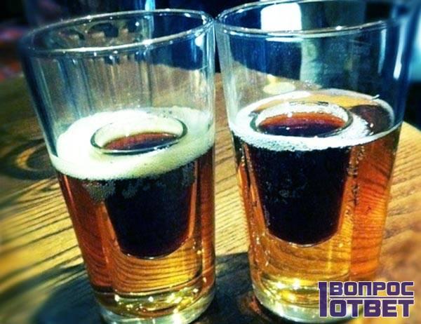Ликер с пивом