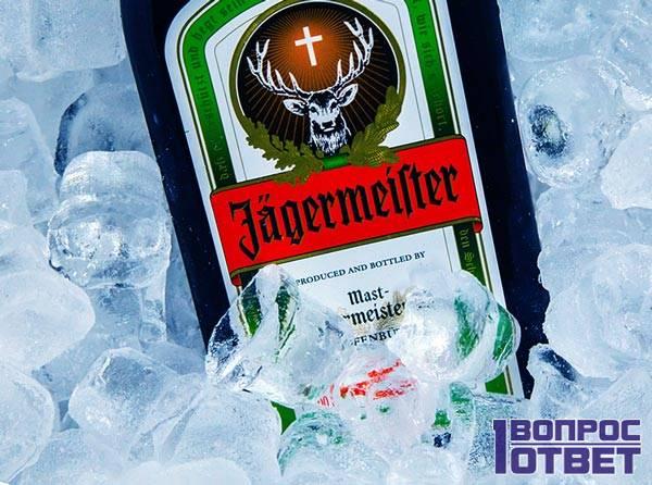 Jägermeister во льду