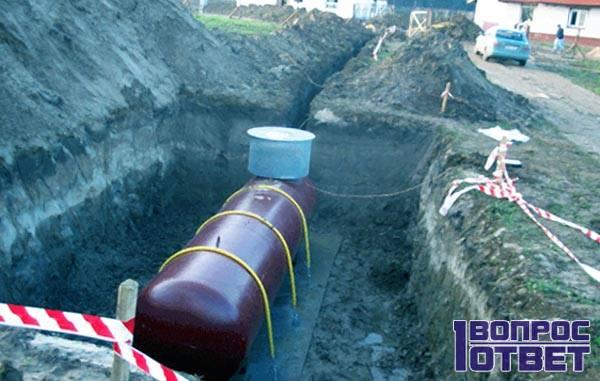 Резервуар на 10 кубометров