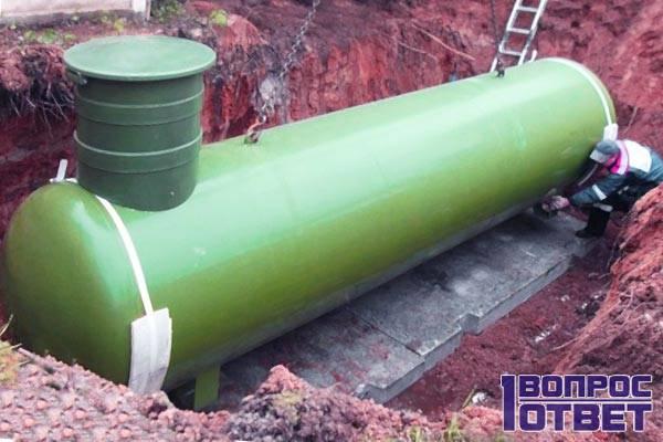 Газгольдер для хранения газа
