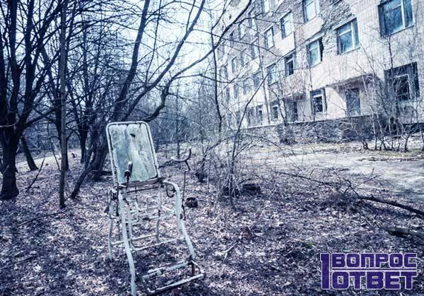 Нет населения в Чернобыле