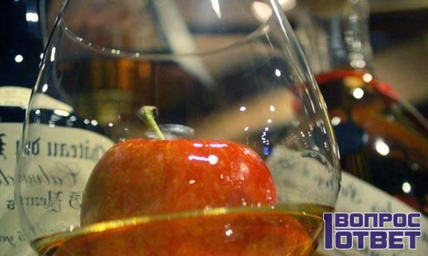 Яблочный сорт винного напитка