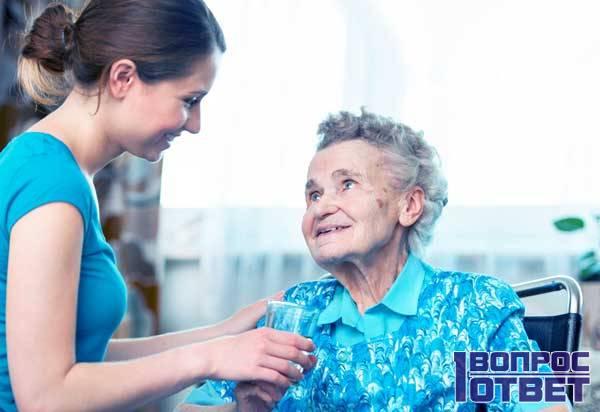 Добро и помощь старикам
