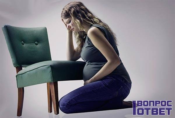 У беременной проблема с позвоночником