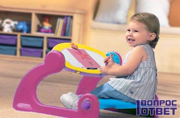 Развивающий столик для малышей