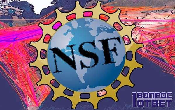 Источник сети: NSFnet