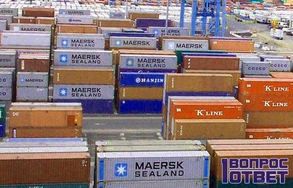 Импортируют товар из-за границы