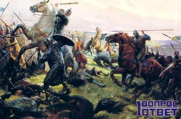 Массовое сражение викингов