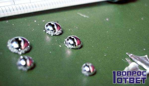 Тяжелый металл оседает в огганизме