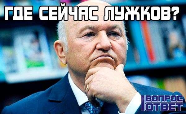 Где сейчас Лужков