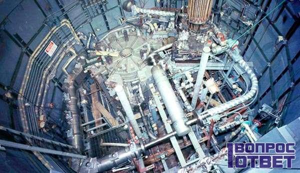 Ядерный реактор внутри