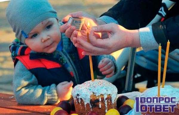 Пасха для ребенка - непонятный праздник