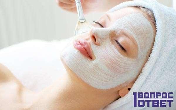 Крахмальная маска как средство от морщин