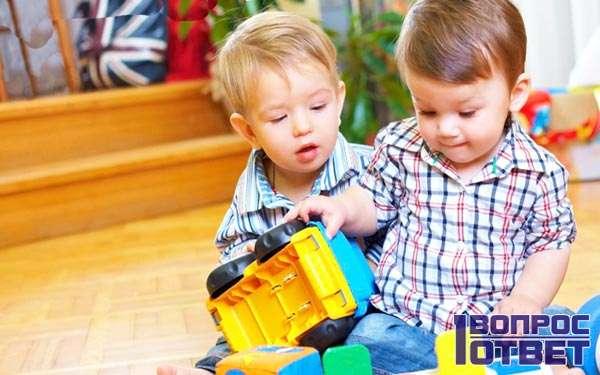 Тесный контакт детей в детсаде