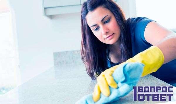 Чистота в доме- залог хорошего обучения