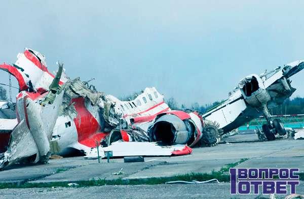 Самолет разбит полностью