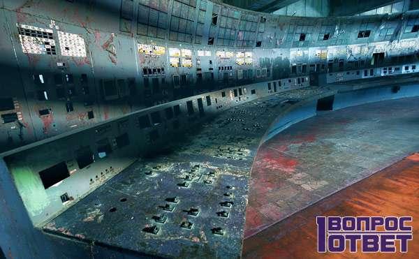 Чернобыльская станция внутри