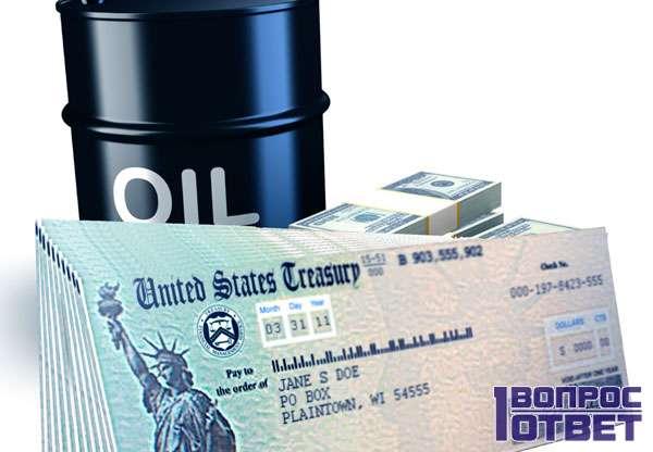 Экономика России построена на нефти