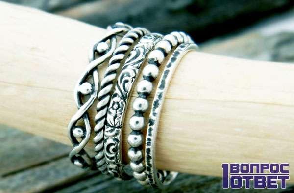 Серебряное украшение с «Алиэкспресс»