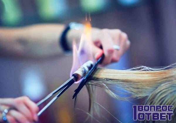 Минусы - воздействие на волосы
