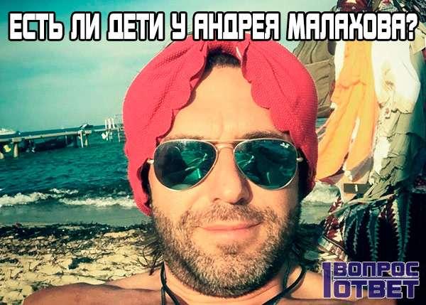 Есть ли дети у ведущего Андрея Малахова?