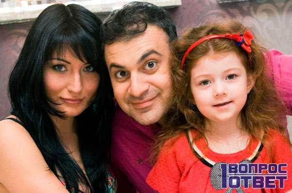 Жена и дочь Гарика