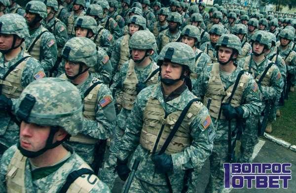 Солдаты двух стран готовы к бою