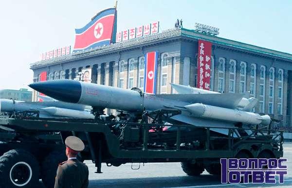 Корейские войска на площади