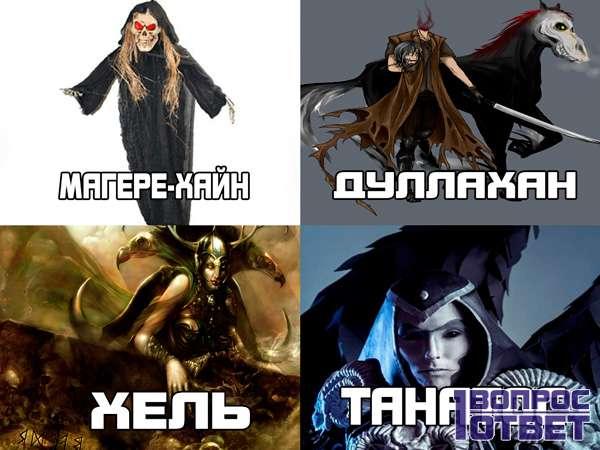 4 вида ангелов