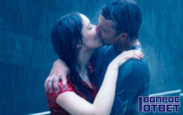 Самый первый поцелуй под дождем
