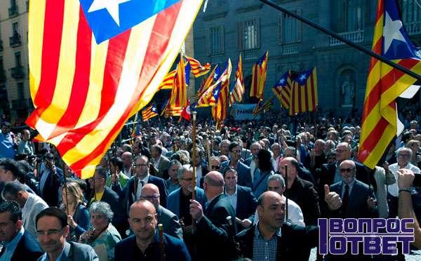Каталония голосует за отделение от Испании