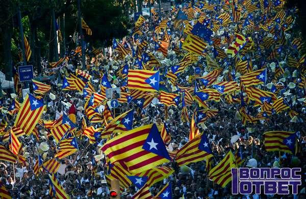 Кризис и митинги в Испании