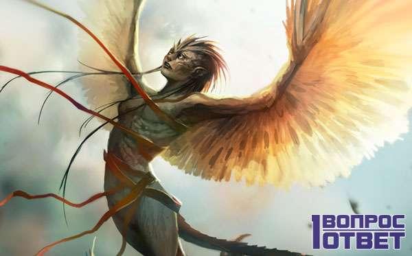 Гарпия в мифологии