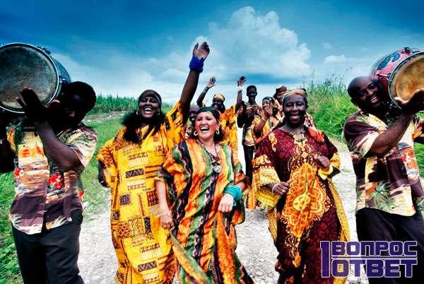 Культура креолов - празднование