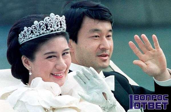 Японский император с королевой