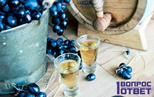 Самогон из винограда (отходов)