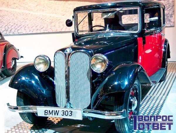 Первый автомобиль BMW 303