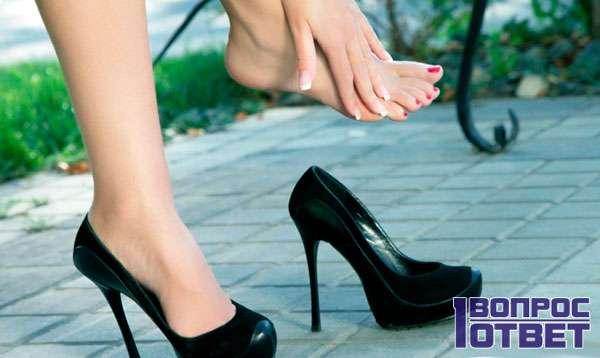 Здоровье ног от обуви