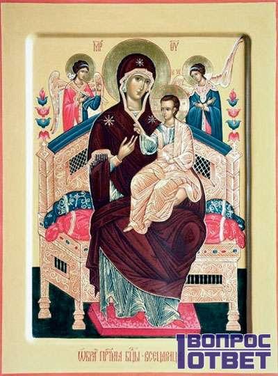 Икона Пресвятой Богородицы - ОРИГИНАЛ