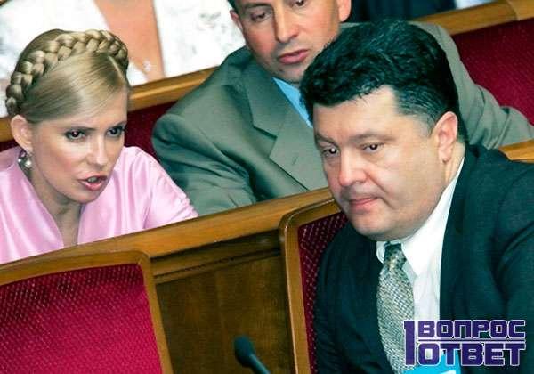 Союз Порошенко и Тимошенко