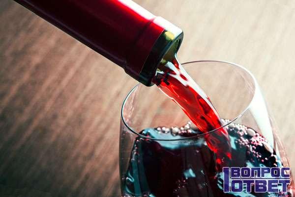 Низкокалорийное красное сухое вино