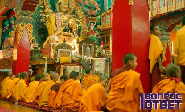 Просвещенные буддисты