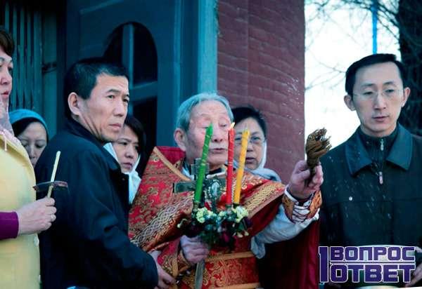 Китайский православный святой отец